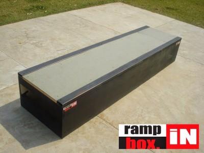 LANÇAMENTO caixote e corrimão Ramp in Box