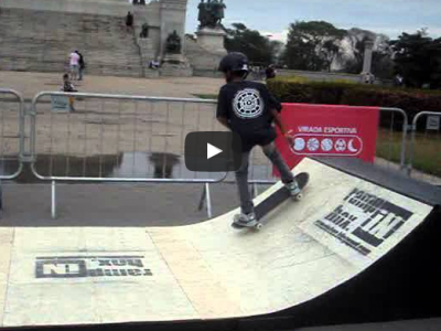 "Skate no Museu - Mini ramp - Ramp in Box modelo ""BOSS"" - Virada Esportiva - Role #1"