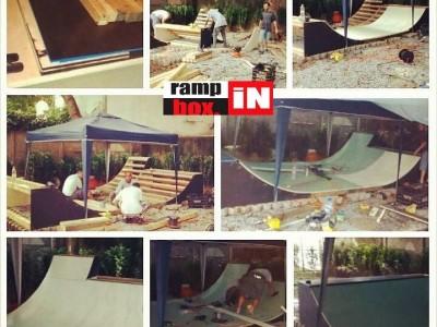 "Mini Ramp ""SS BOSS"" em São Paulo Capital. - Mini ramp em 10 horas ! EXCLUSIVIDADE Ramp in Box."