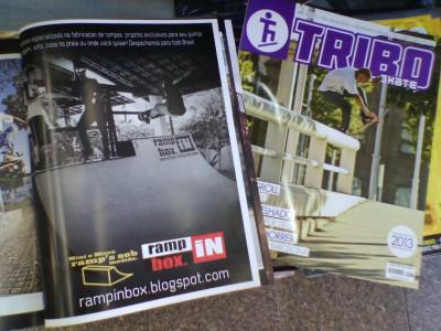 Campanha R.I.B. Jan. 2013 - Revista Tribo Skate - Edição 207