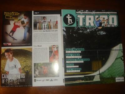 Campanha R.I.B. Fev. 2013 - Revista Tribo Skate - Edição 208