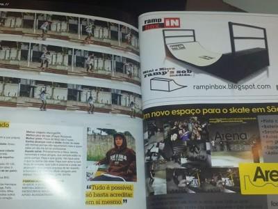 Campanha Ramp in Box Dez. 2013 - Revista Tribo Skate - Edição 218