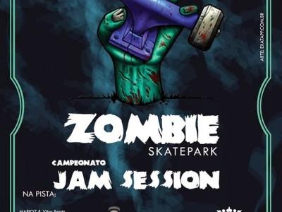 Inauguração Zombie Skate Park, Projeto e Construção Ramp in Box