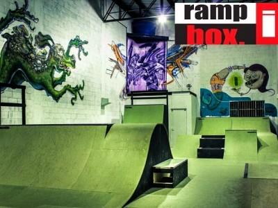 Zombie Skate Park, Projeto e Construção Ramp in Box.