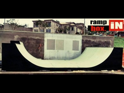 "Lançamento mini ramp ""SRV"" - Mini Ramp exclusiva Ramp in Box."