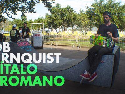 Bob Burnquist + Italo Romano - Festa de Inauguração Skol Ultra